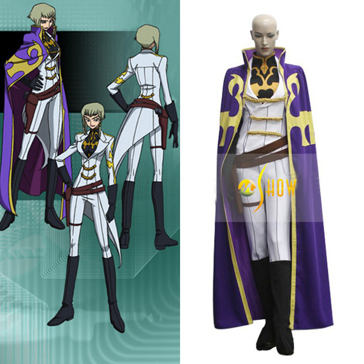 anime cosplay outfits for sale: Japanese Anime Code Geass Nonette Enneagram Cosplay