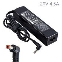 20v 4.5a 90W ноутбук адаптер переменного тока батарея зарядное устройство переменного тока Адаптеры питания для lenovo B570 G480 G485 G560 G560e G565 G570 G575 G580 G585 G780