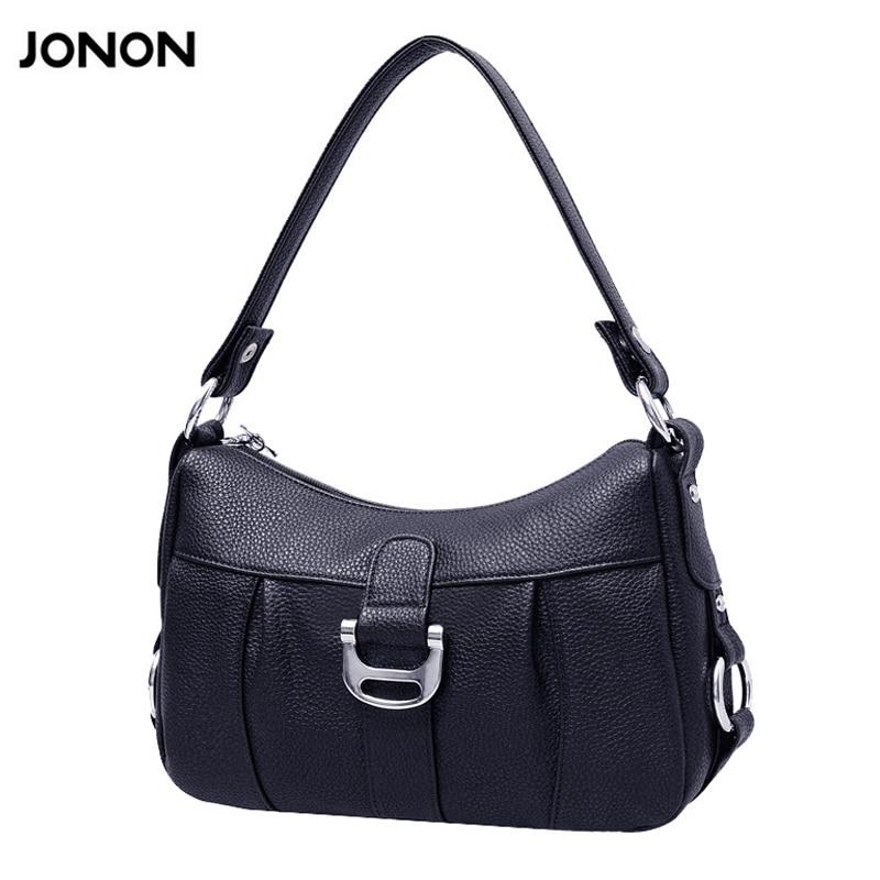 Jonon Новый Модные женские сумки высокого качества PU сумки сплошной плеча сумки на ремне