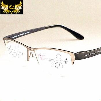 7383ed9d25 Gafas de lectura fotocrómicas Anti-UV reflectantes multifocales de  transición de sol para mujer