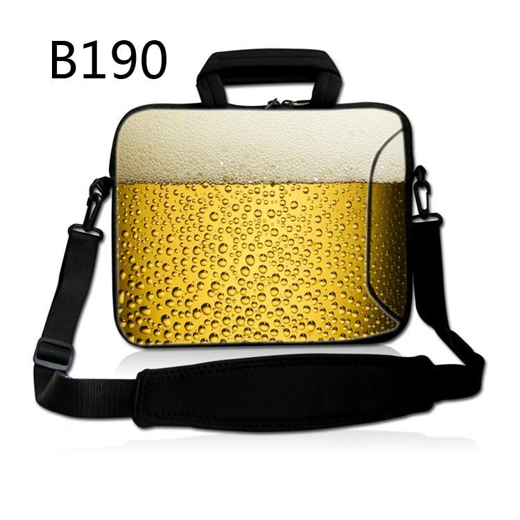 Beer 12 13.3 14 15 15.6 inch Laptop Shoulder Bag Women Men Computer Sleeve Messenger HandBag Carry Case For Macbook/Lenovo