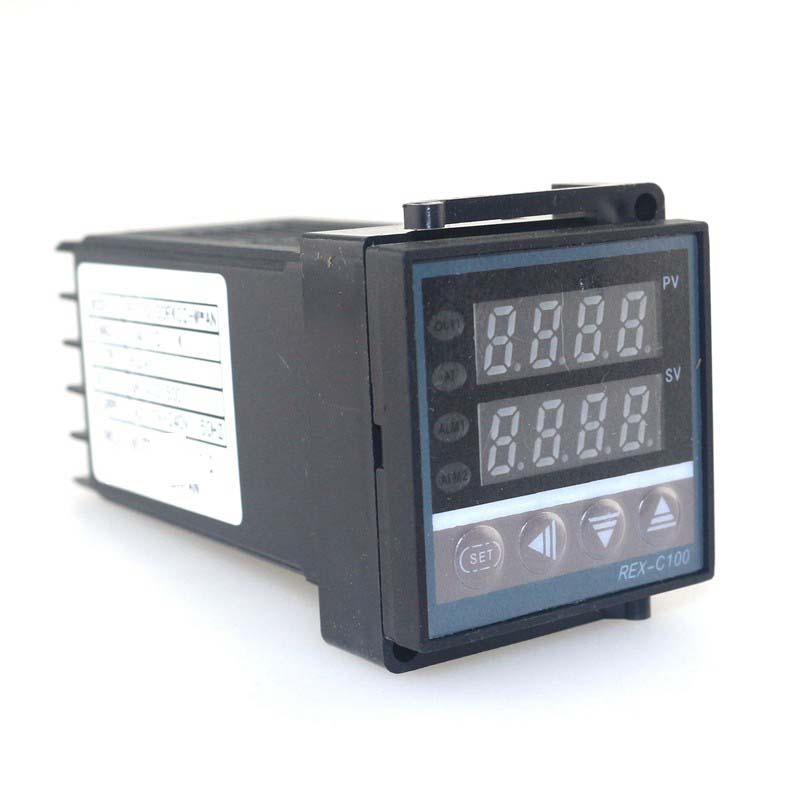 Ketotek double régulateur de température PID numérique Thermostat REX-C100 thermocouple K SSR 40A SSR-40DA 110V 220V Programmable