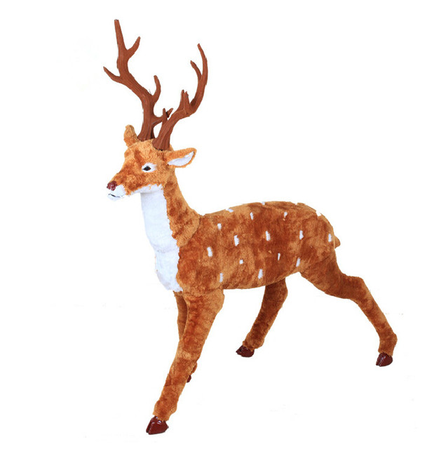 large size about 100cm christmas reindeer simulation xmas deer