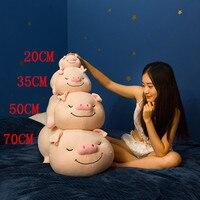 1pc 50/70cm Huge Cute Animal Toys Cartoon Love Pig plush Toys Fat Pig Pillow Soft Cushion Pig Doll for Kids Girl