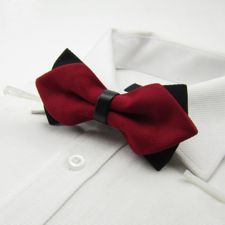 RED SEQUIN BOW TIE TUXEDO BOWTIE CHRISTMAS VALENTINES DAY MEN OR WOMEN NEW!