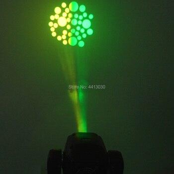 2 PCS Heißer Verkauf Mini Spot 60W LED Moving Head Licht Mit Gobos Platte & Farbe Platte, Hohe Helligkeit 60W Mini Led Bühne Licht DMX512