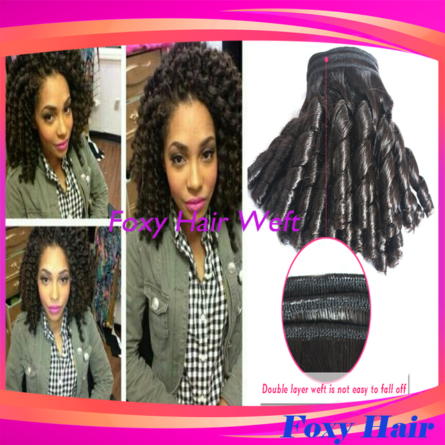 Hot 3pcslot Peruvian Candy Curl Virgin Hair Candy Curl Human