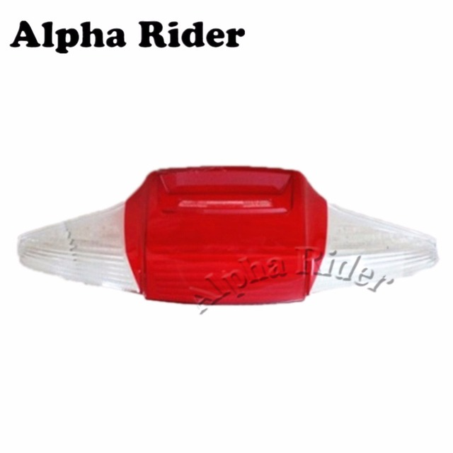 Motorcycle Replacement Taillight Cover Rear Stop Lamp Guard Tail Brake Light  Cap For BMW R1200RT R900RT
