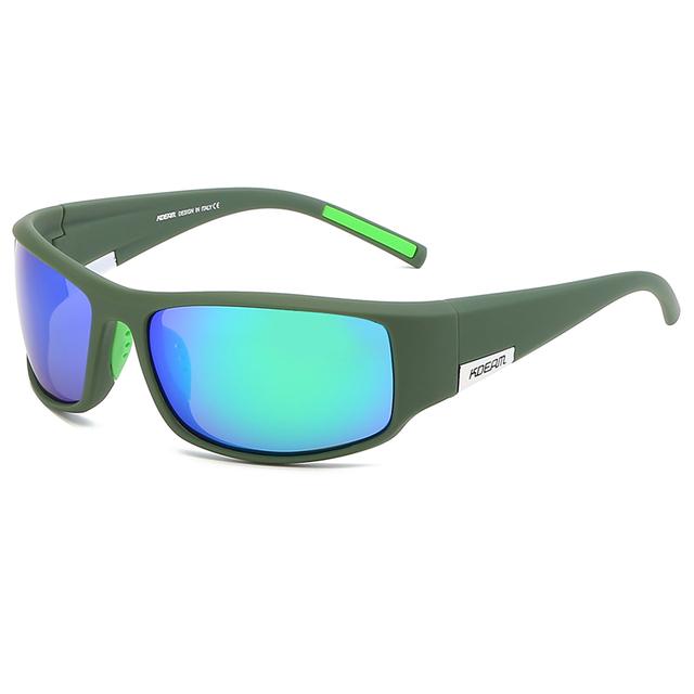 Men's TR90 Frame Sport Sunglasses