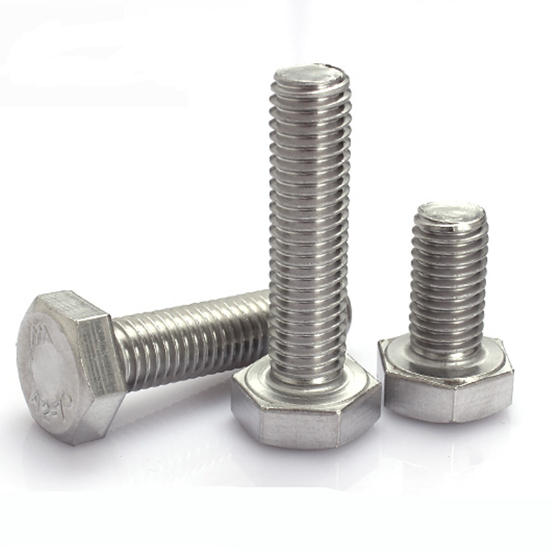 A4//316 M8 x 50 MARINE Grade Stainless Steel Bolts 8mm x 50mm Hex Head x10