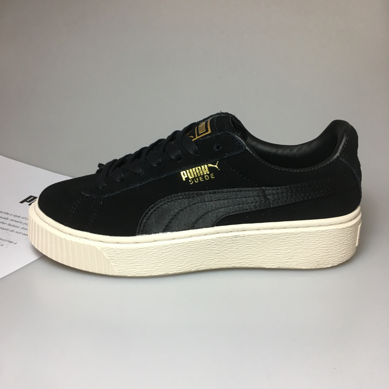 new product 78c2a b19c7 Original 2018 New Arrive Puma By Rihanna Suede Creepers Men Shoes  Breathable Badminton Shoes Sneakers Size 40-44