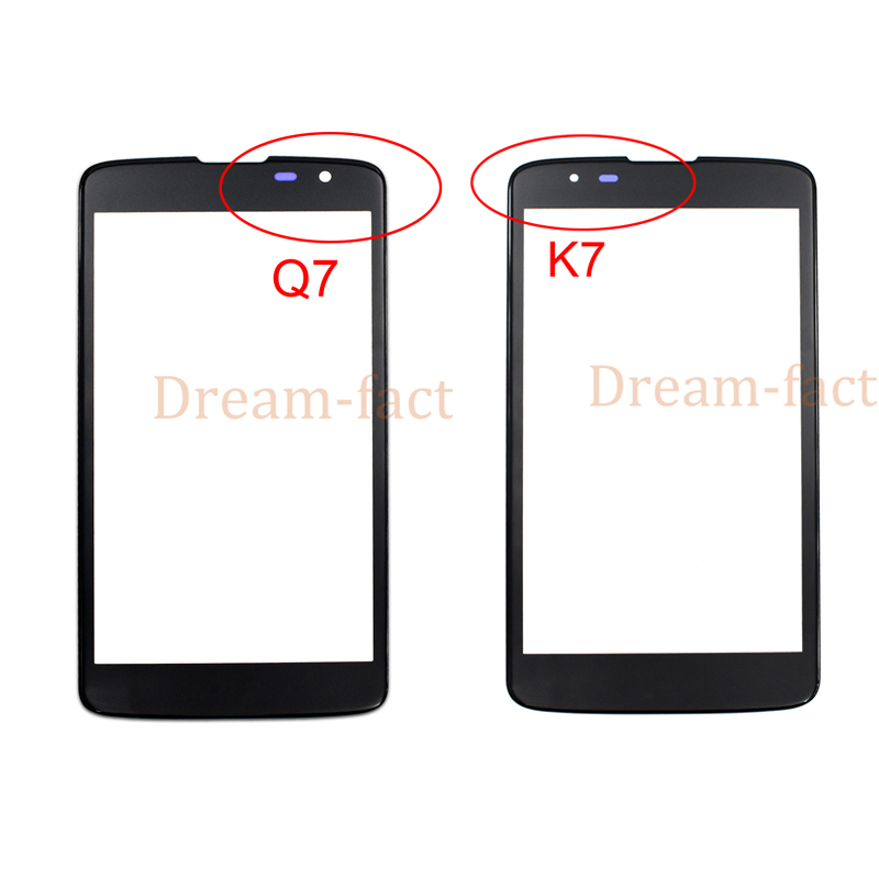 50pcs Front Touch Screen Outer Glass For LG Tribute 5 K7 MS330 LS675 Q7 X210 X210DS