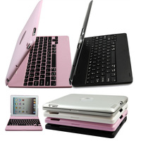 2016 Newest Folio Smart Magnetic Case Full Body Cover Bluetooth Keyboard For Apple IPad 2 3