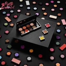 3PCS/LOT Glitter injections Pressed Glitters Single Eyeshadow Diamond Rainbow MakeUp Eye shadow Magnet Palette