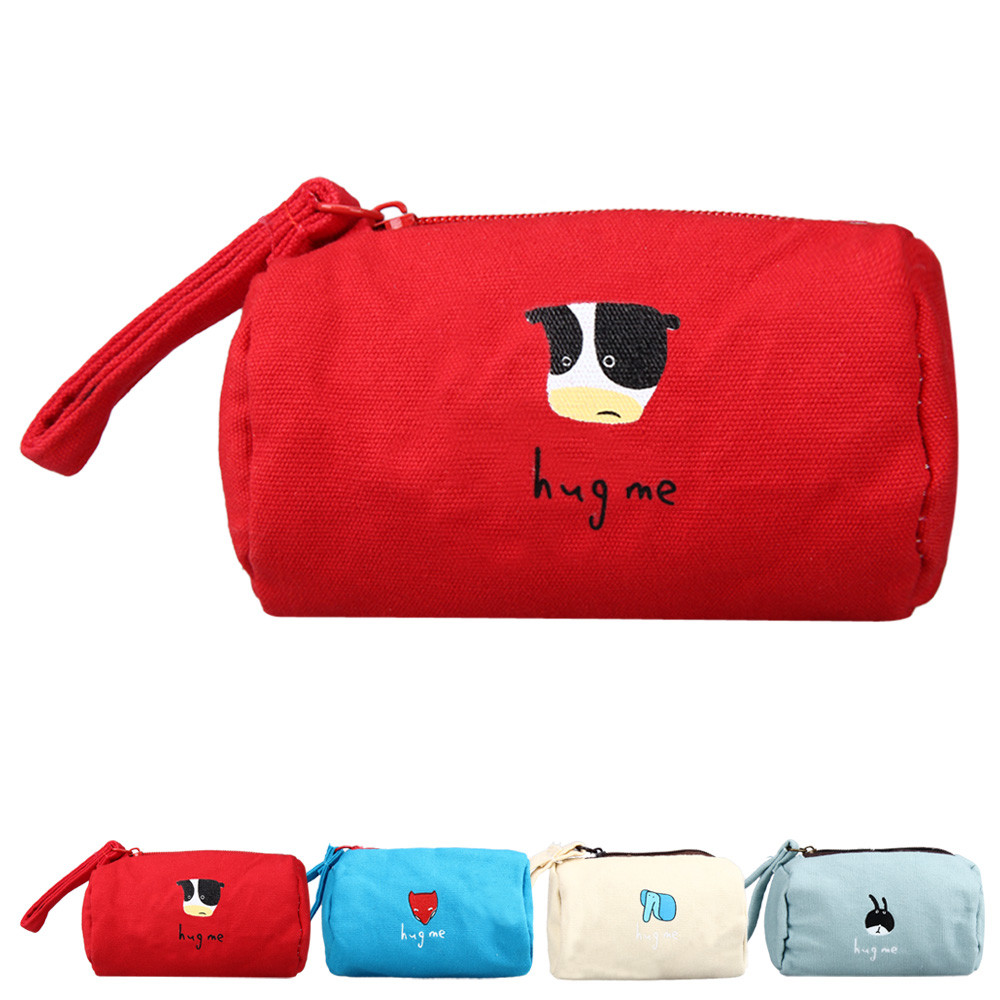 Womens Purse 2017 Dollar Price Small Wallet Purse For Coins Canvas Cylinder Mini Purse carteras mujer portefeuille femme