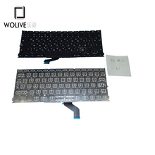 Wolive Genuine RU Brand new Keyboard language version RU Russian For Macbook Pro Retina 13″ A1425 Replacement