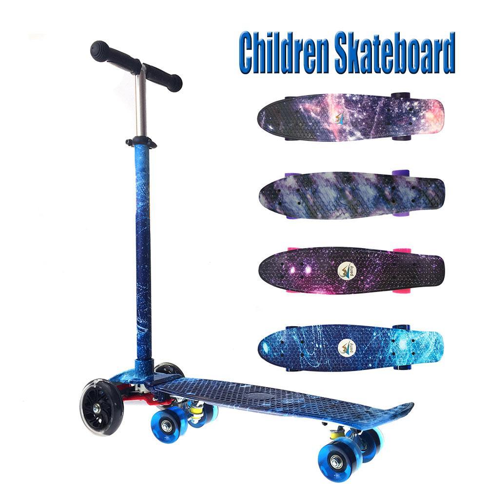 Tribord modèle planche à roulettes Cruiser planche à roulettes Sports extrêmes dérive poisson planche à roulettes Scooter pour les enfants - 6