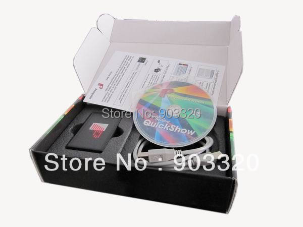Freeshipping Pangolin Quickshow Quick Show FB3 ILDA PC Laser Light Show Designer Controller Software