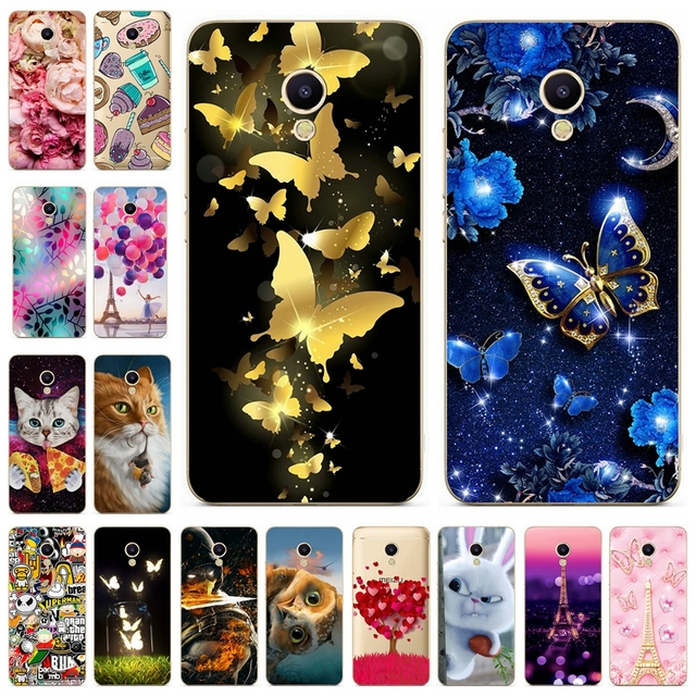 Phone Case For Meizu M5S M3S mini M3 note M5 note M5C A5 Soft TPU Silicone Cover FOR Meizu M 3 5 s 5C Note Mini Back Cases Cover