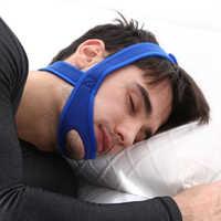 Antironquido correas de barbilla protector de boca parada de bruxismo nariz Apnea dejar de dormir ronquidos soluciones respiración ronquido tapón para dormir