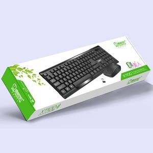 Image 5 - คีย์บอร์ดไร้สายเมาส์ Combos 2.4G แป้นพิมพ์เกมคอมพิวเตอร์เม้าส์ชุดแป้นพิมพ์คีย์บอร์ด 104 ปุ่มเมาส์ Drop Shipping