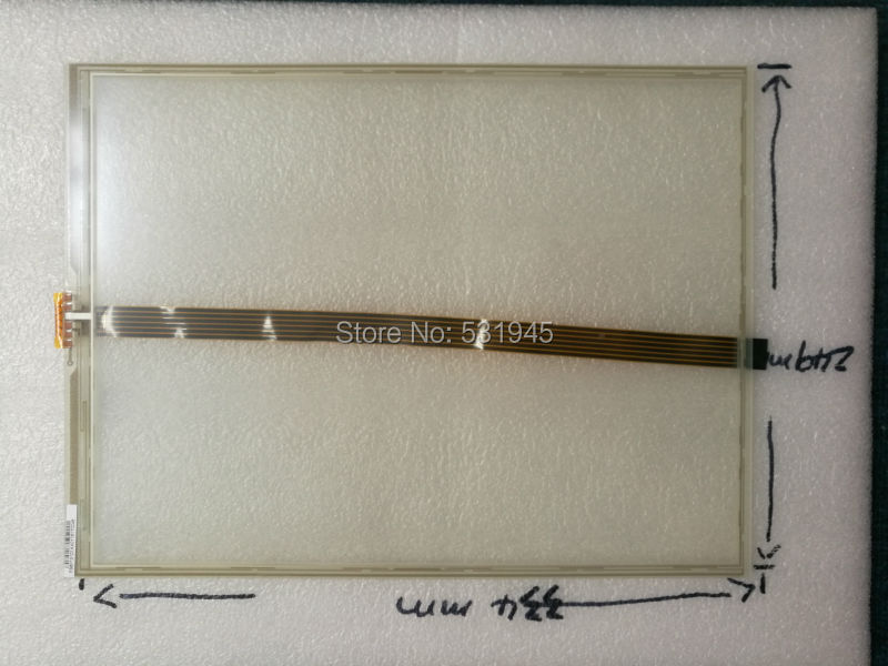 NEW TOUCHSENSOR 334*249 15 -inch 6line resistive touchscreen flat screen handwriting 334mm*249mmfor industry applications