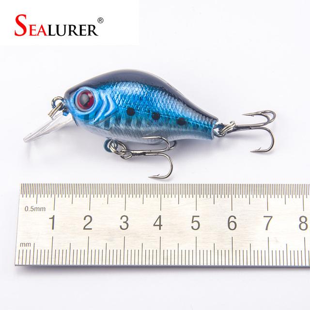 Brand Lifelike VIB Floating Fishing Lure 5.5CM 9G Pesca Hooks Fish Wobbler Tackle Crankbait Artificial Japan Hard Bait