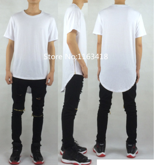 men t shirt fashion extended long designer clothes justin bieber clothes  last kings china swag urban e4c547cecfdf