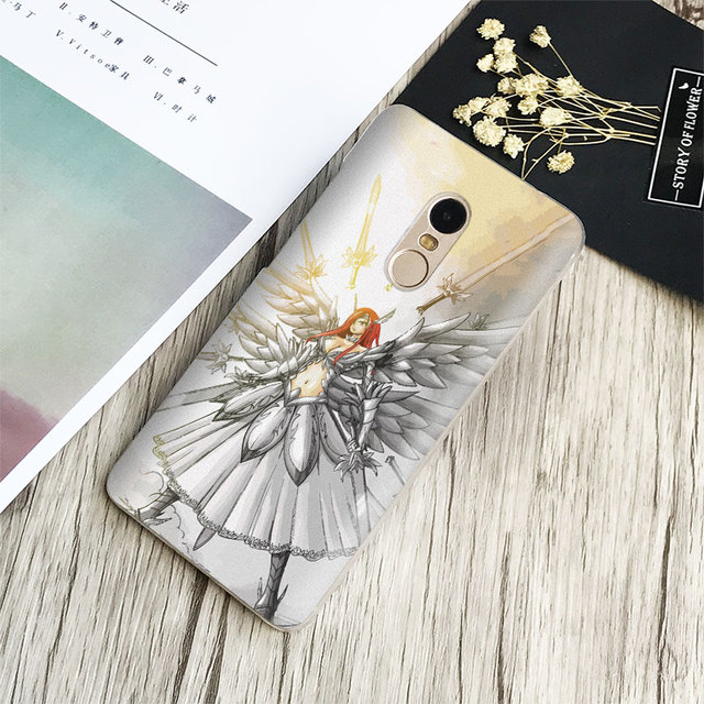 Fairy Tail Natsu Logo Phone Case Shell Cover For Xiaomi Redmi