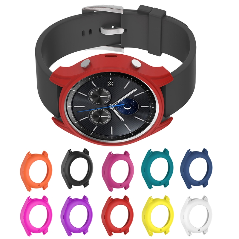 Soft Silicone Cover Case For Samsung Galaxy Gear S3 Classic SM-R770 Smart Watch