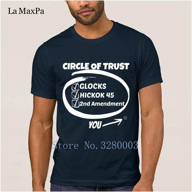 57b2d11c5 printed Latest mens t shirt gun owner glocks hickok 45 2nd amendment t-shirt  men 2018 Letter men tshirt size S-3xl top tee
