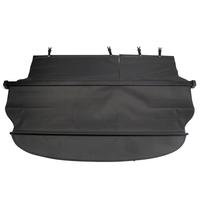 For Toyota Corolla Fielder Wagon 2012 2013 Rear Trunk Security Cargo Cover Shield Shade Black car styling accessories