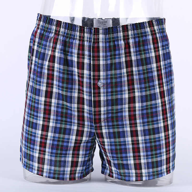 1fd8c0323f05 ... M-9XL Men's Underwear Loose Leisure Shorts Cotton Comfortable Men Boxer  Shorts Fashion Boxers Men ...