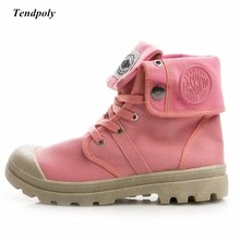Women's canvas boots 2019 Spring autumn Retro casual Female shoes High-top outdo