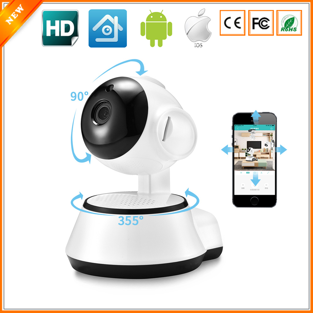Wireless Wifi Smart Remote Control Alarm Clock IP 720P HD Home Safety Camera BS3