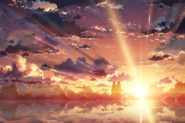 Bingkai DIY Pedang Seni Online Novel Ringan Jepang Seksi Komik Anime Poster Lanskap Kain Sutra