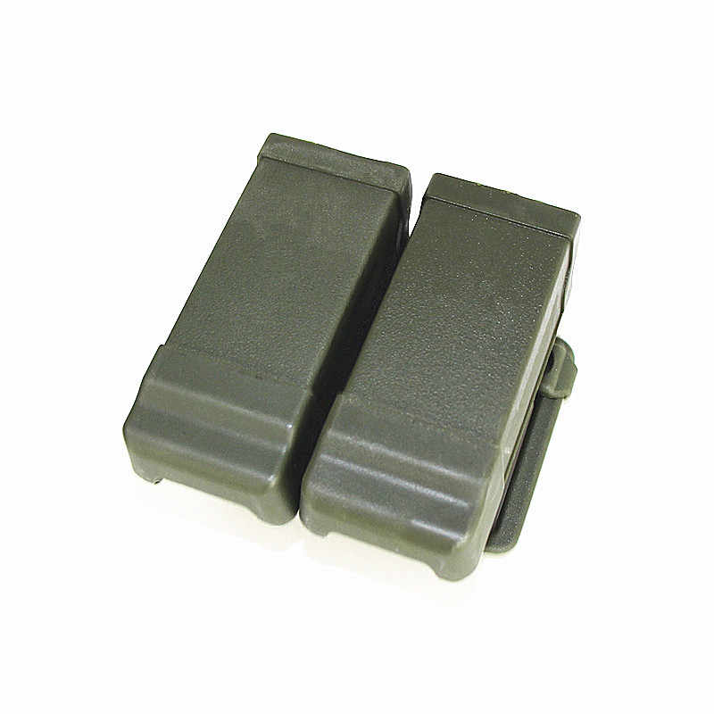 CQC Double 2 Magazine Belt Pouch Tactical Glock M9 USP 1911 Pistol Holster  Belt Pouch Airsoft Dual Double Belt Loop Mag Pouch