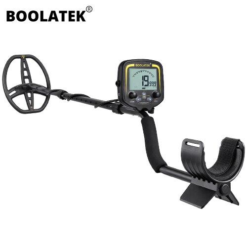 BOOLATEK Professional Metal Detector Metro Gold Digger Treasure Hunter Localizador de Profundidade 2.5 m Scanner Equipamentos de Detecção