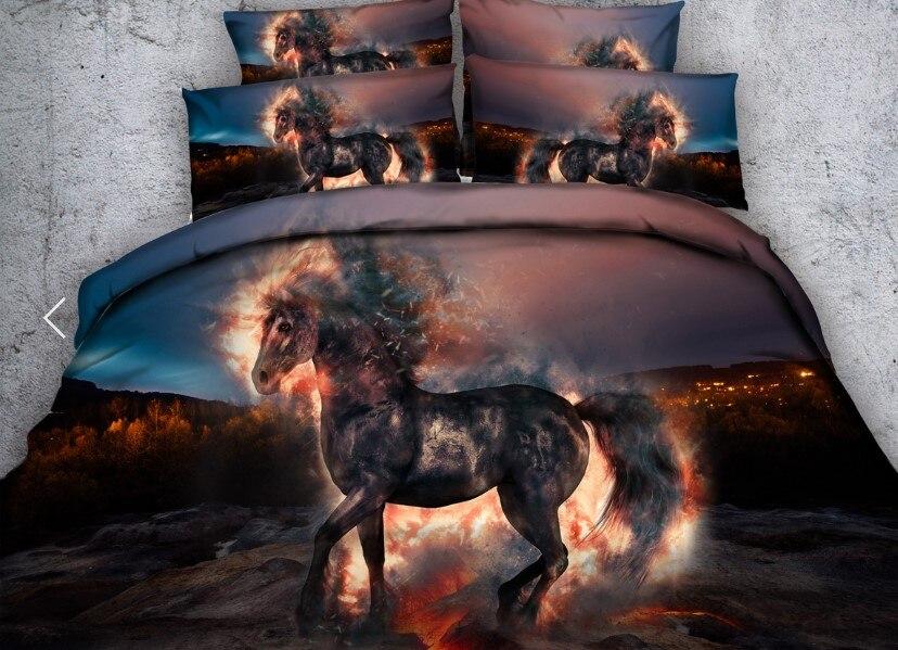 9 horse bedding set