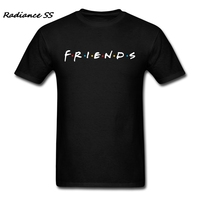 Fashion Brand T Shirt Men Short Sleeve Friends TV Show Tshirt Blank Gift Hipster Adult T