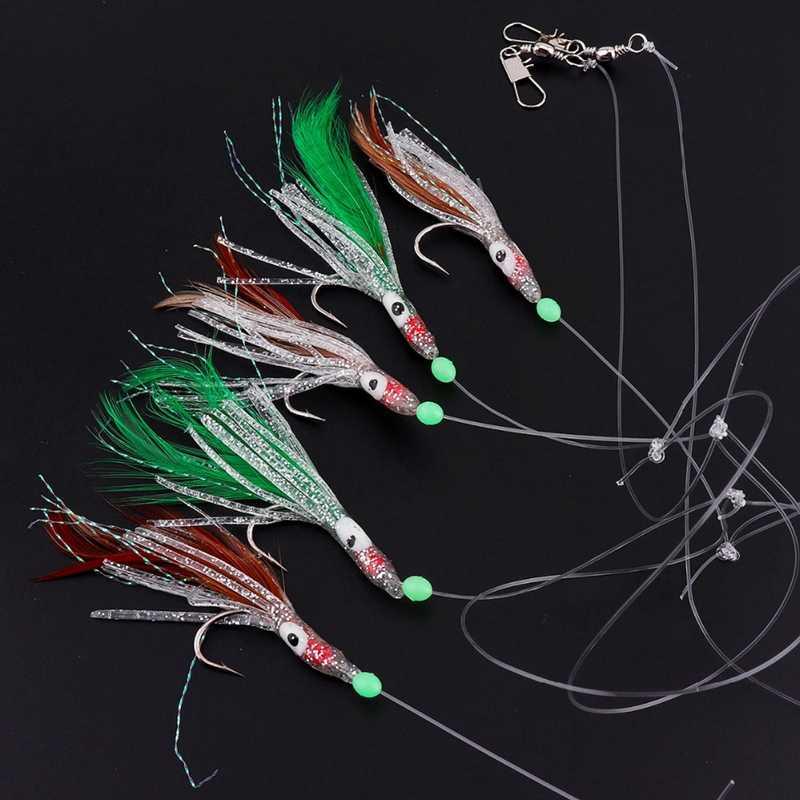 Рыбалка на светящиеся крючки