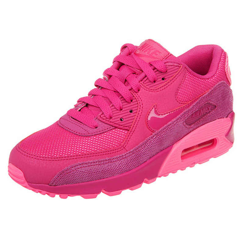buy popular a85cd dcd88 Original Nike AIR MAX 90 PREMIUM Women Running Shoes,Authentic New Arrival  Women Outdoor Sports Sneakers Trainers Shoes