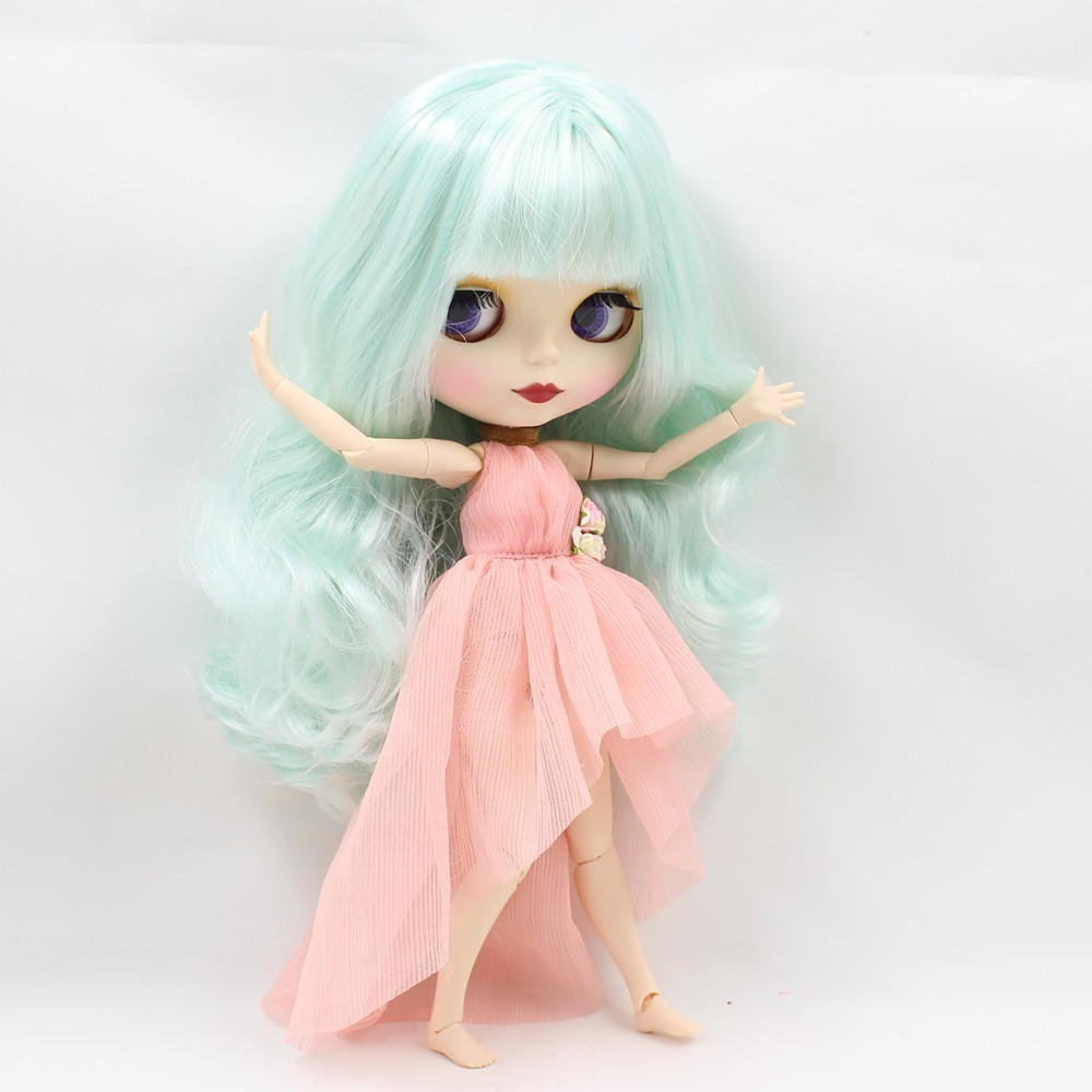 Neo Blythe Doll Clothes Pink Dress 2