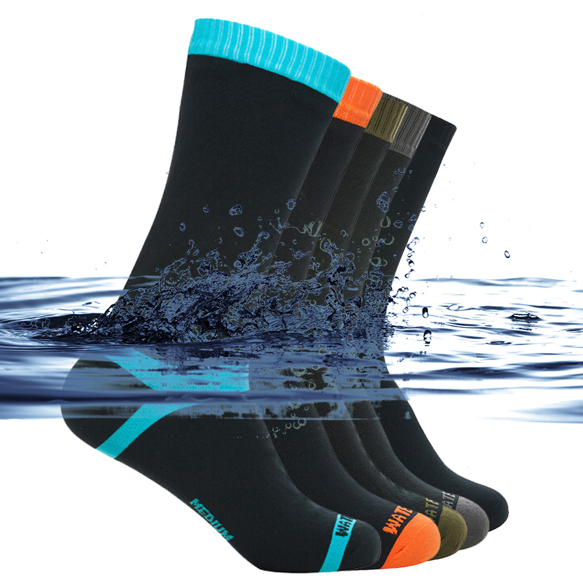 High Quality Waterproof Socks Men Women Climbing Hiking Skiing Cycling Socks Outdoor Warm Breathable Fishing Skateboarding Socks