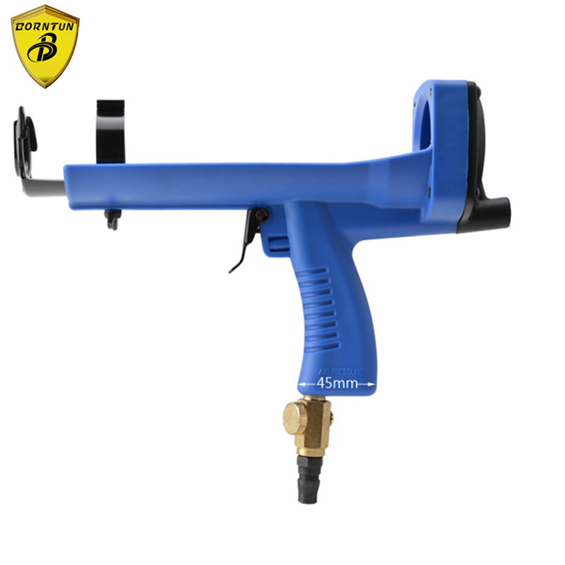 Borntun Pneumatic Air Glass Glue Gun Device Tool Set Stone Sealing Neutral Sealant Auto Caulking Cartridge Spray Glass Glue Rock