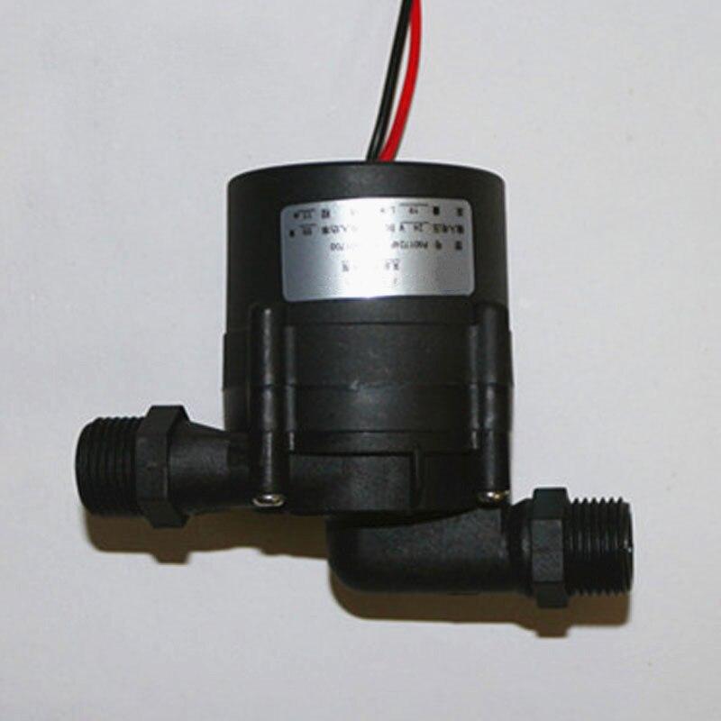 DC24V pump lift 6m 9m 12m Electric water heater booster bath pump solar water heater pipeline