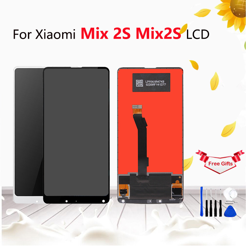 For Xiaomi Mi Mix 2S LCD Display with Touch Screen Digitizer For Mi mix 2S Display Pantalla Screen 5.99 free shippingFor Xiaomi Mi Mix 2S LCD Display with Touch Screen Digitizer For Mi mix 2S Display Pantalla Screen 5.99 free shipping