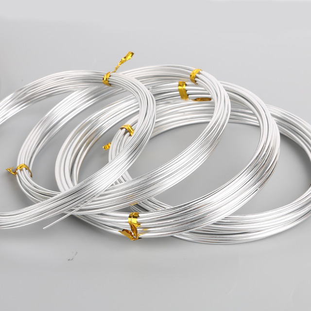 2 5 Mm Earrings: Silver Plated Aluminum Wire Craft Jewelry Making 1mm 1.5mm