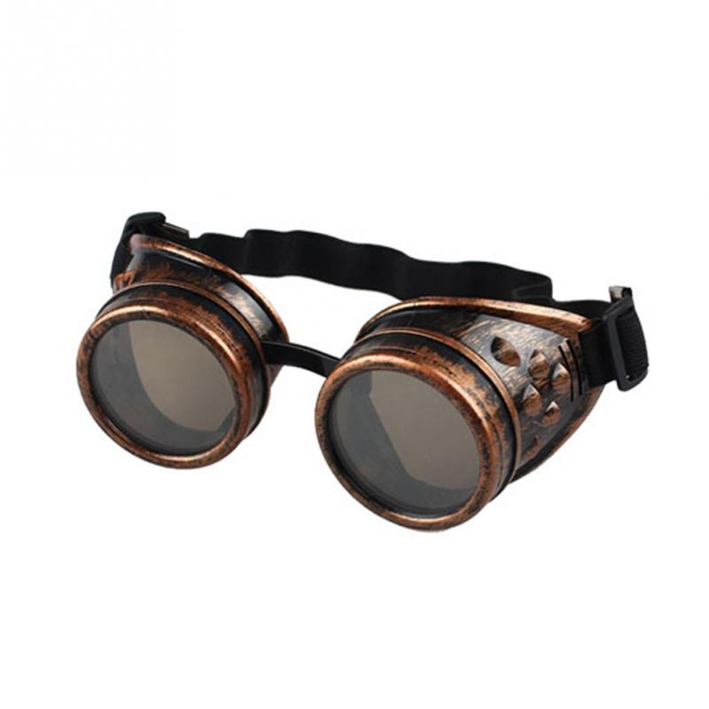 26unisex Victorian Us3 Style Punk Cosplay Gothic From In Sunglasses Men Glasses Vintage Goggles Welding 4colors Steampunk hrdsQCt
