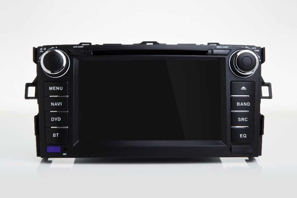 """7 """"2 din Android 8,1 четырехъядерный автомобильный dvd-плеер для Toyota Auris хэтчбек 2Din gps навигация Радио RDS стерео wifi USB"""